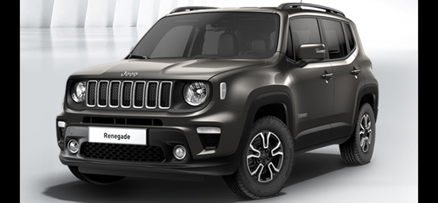 JEEP RENEGADE LIMITED 120CV MULTIJET 1.6